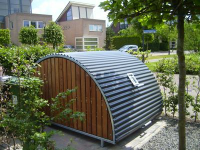 Extreem Fietsenstalling F-650 - de fietsenstalling voor woonwijk of tuin &CQ37