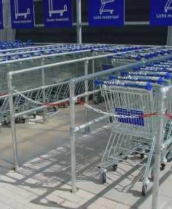 Buiskoppelsysteem winkelwagens