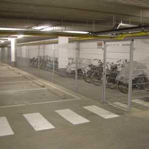 Fietsenstalling in parkeergarage