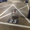 Parkeerbeugel RVS omklapbaar automatisch