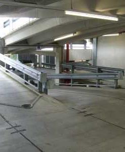Vangrail parkeergarages