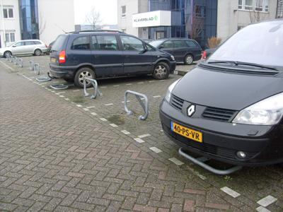 Parkeerbeugel omklapbaar