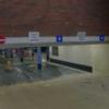 verkeersborden ingang parkeergarage
