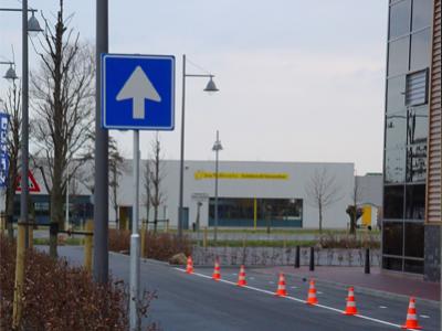 Verkeersbord richtingsaanduiding