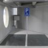 Verkeersbord parkeerplaats voor motoren