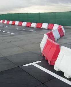 Kunststof barrier