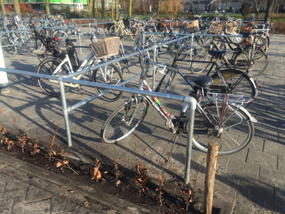 Buiskoppelsysteem fietsparkeren