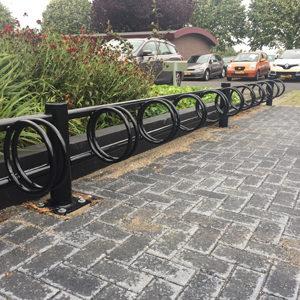 Fietsparkeersysteem Multi met voetplaat