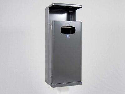 Afvalbak Basic 55 liter antraciet