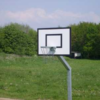 Basketbalbord en paal