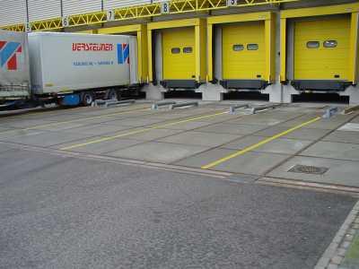 Wegmarkering docklijnen