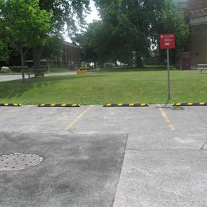 Parkeerstootbanden kunststof