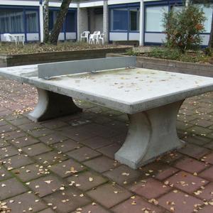 Tafeltennistafel beton