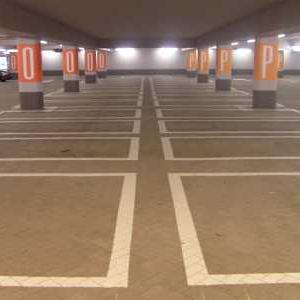 Wegmarkeringen parkeervakken