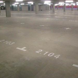 belijning-cijfers-parkeergarage