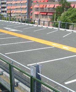 belijning-parkeerterrein