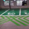 Invalideparkeerplaats wegmarkering