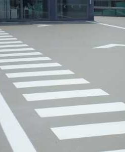 Zebrapad wegmarkering
