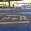 Wegmarkeringen P+R symbool