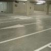 ljinen belijning parkeergarages
