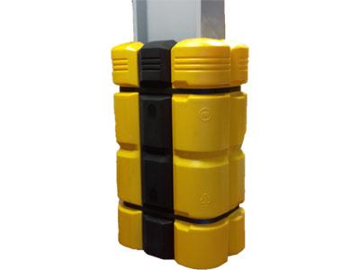 Column Guard met infills a 200 mm geschikt voor kolommen groter dan 300x300 mm.