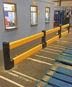 Kunststof aanrijdbeveiliging Guardrail