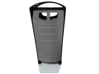 Afvalbak BIN-solumn 100 liter basaltgrijs