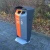Afvalbak BINsolumn gescheiden afval