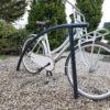 fietsaanl curve gecoat met fiets buiten