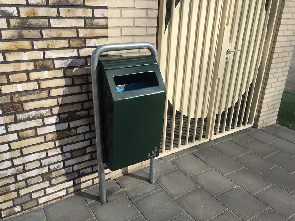 afvalbak bin system