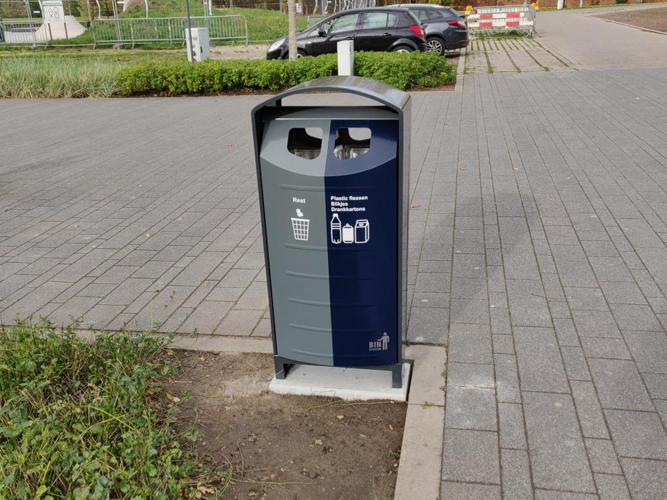 Afvalbak Bin-Solumn