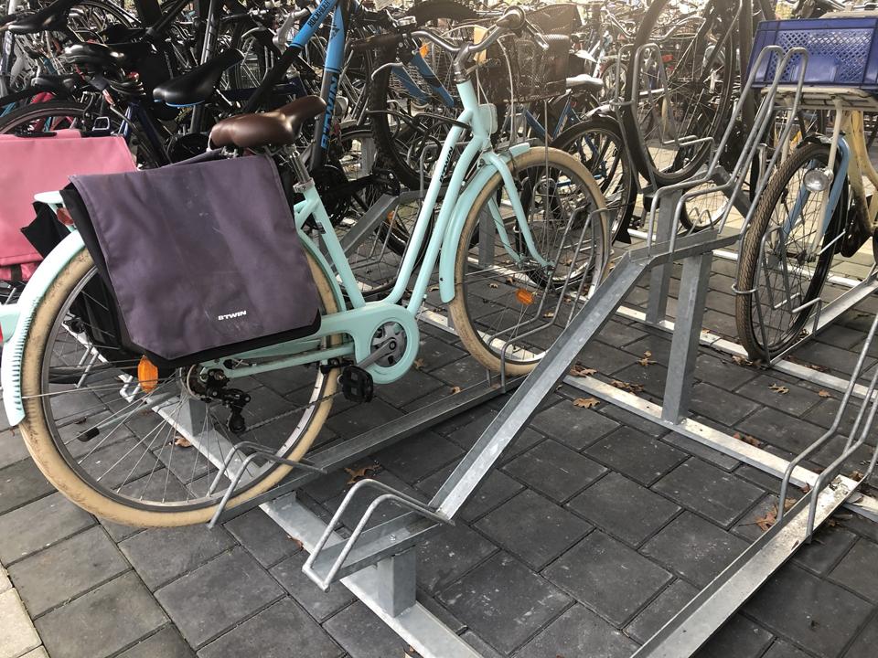 Kratfiets parkeren
